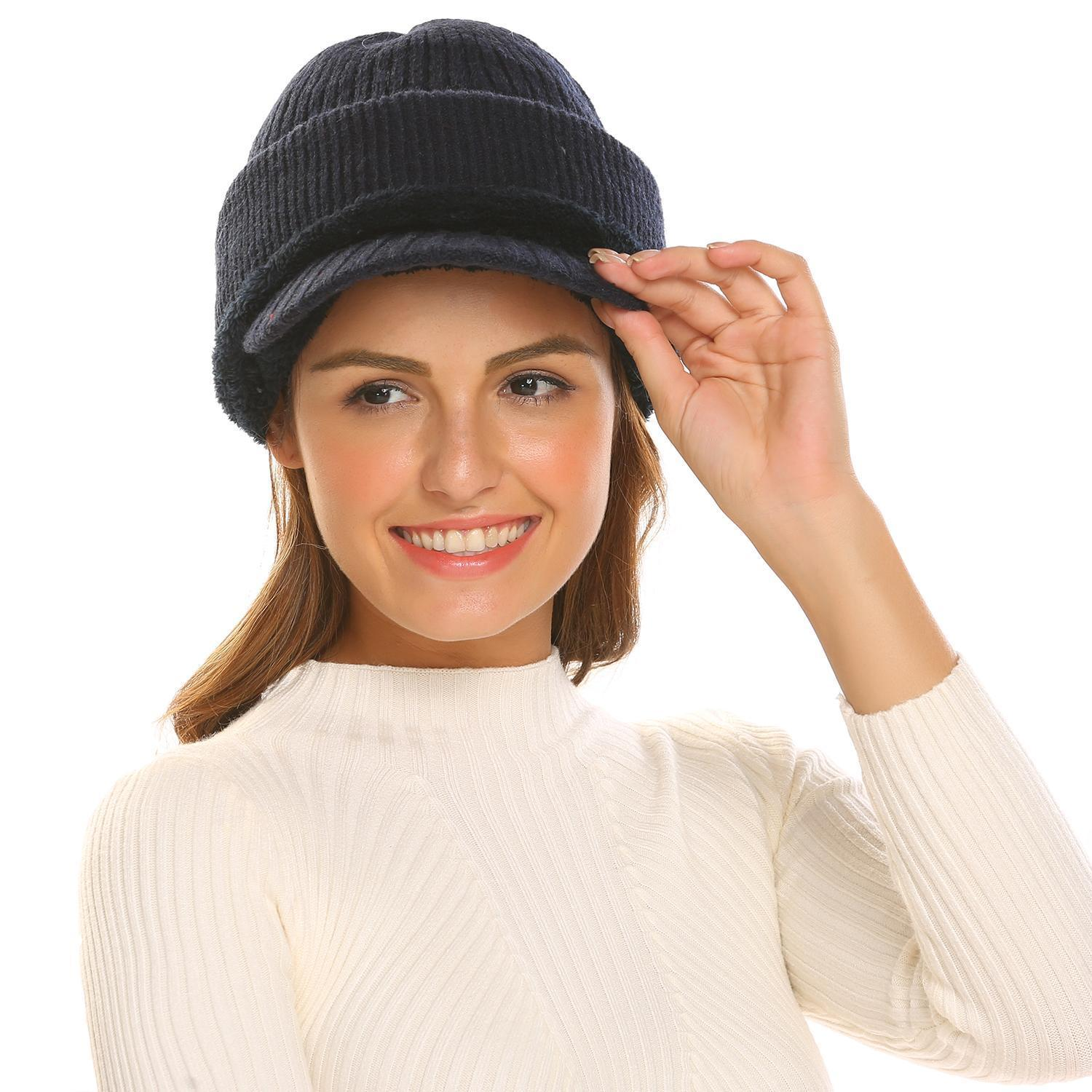 Women Fashion Winter Warm Wool Neck Hat Visor Ear Face Cover  Buy Sell  Online   Best Prices in Pakistan  1338d6042358