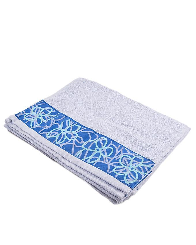 Italian Design Hand Towel - Light Blue - 30x45 cm
