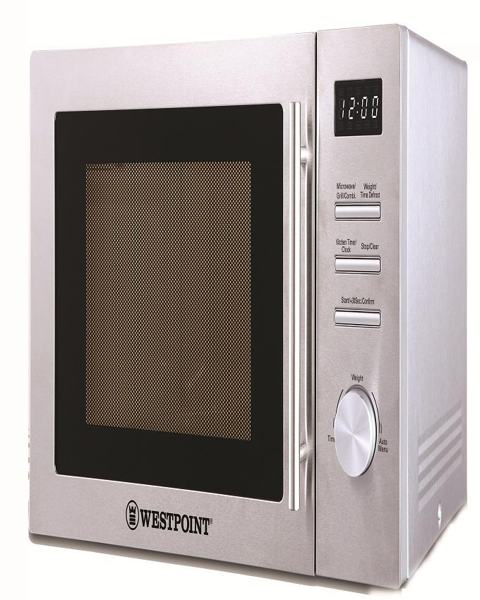 Westpoint Wf 854dg Digital Microwave Oven With Grill White
