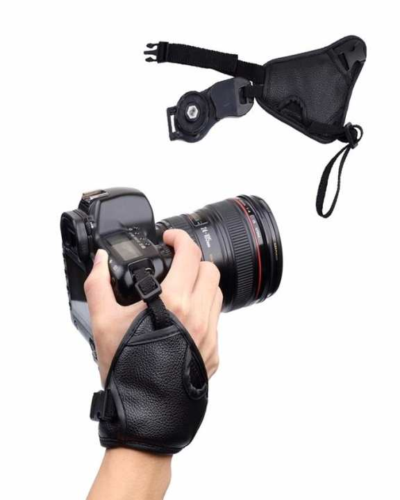Camera Strap Wrist Hand Sling Strap Grip for NIKON - Black