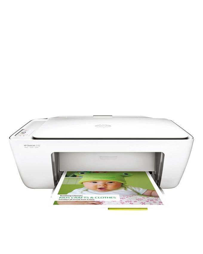 DeskJet All in One Printer - 2132 - White