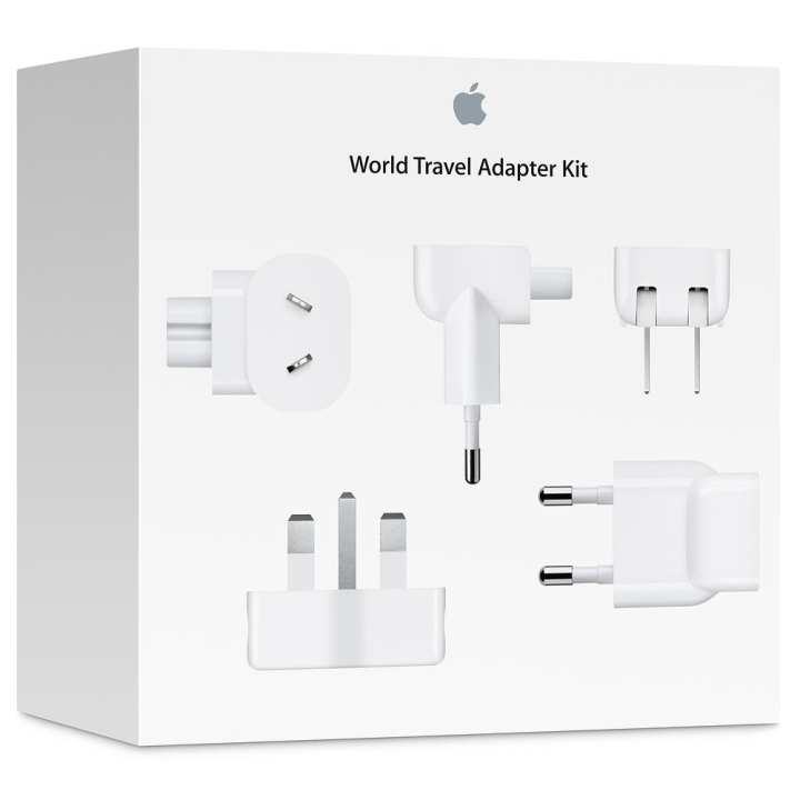 Apple World Travel Kit - Apple Adapter Kit - 4R6325112 - White