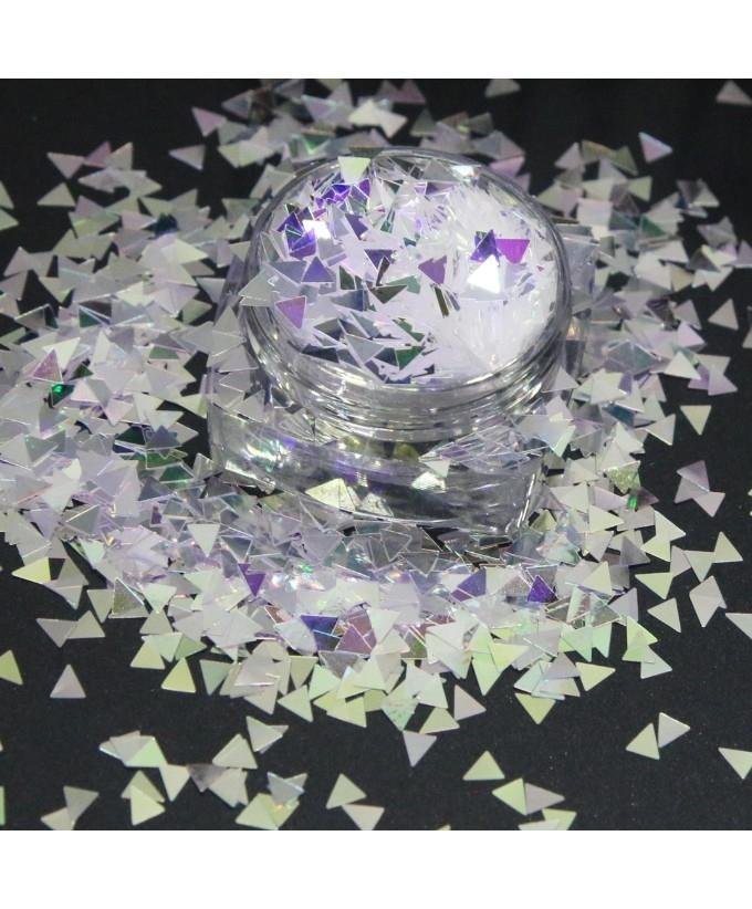 3g Triangle Glitter Pot For Nails