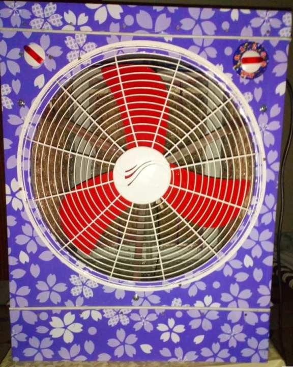 bakersland Solar 12v Air Cooler With 12v Power supply(220v to12v)- Big  size  -  Special discount