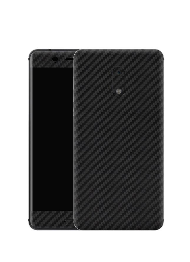 Nokia 5 Carbon Fibre Skin Wrap - Black
