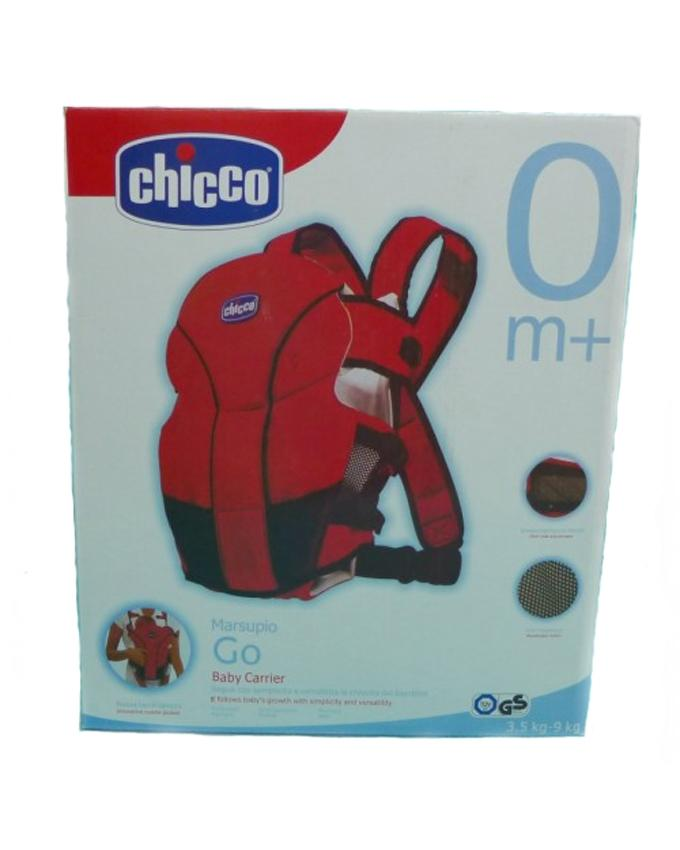 Baby Carrier - Red & Black