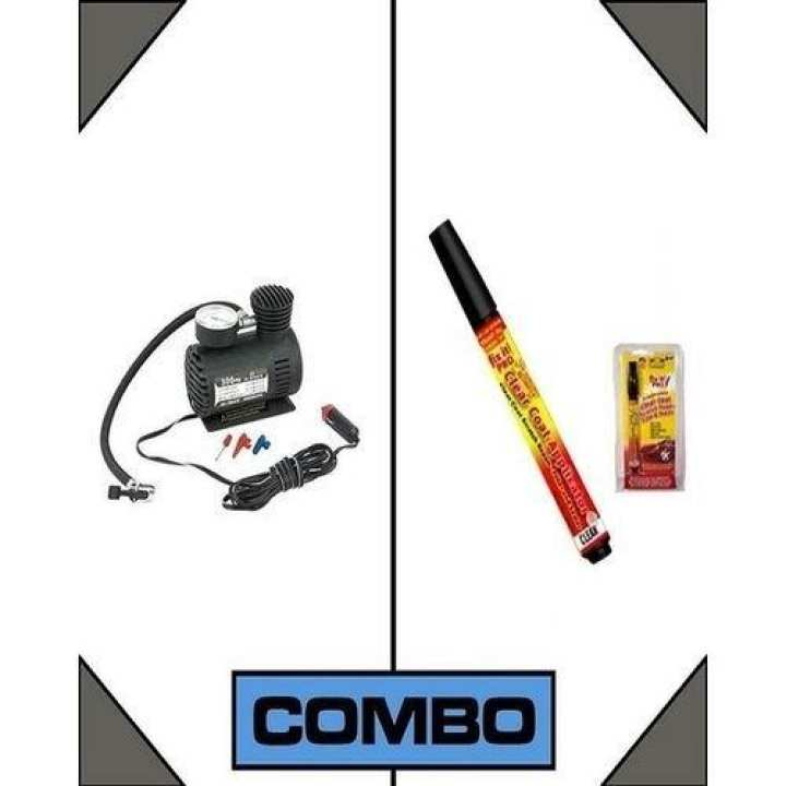 Combo Of 1 Portable Air Compressor + 1 Scratch Remover