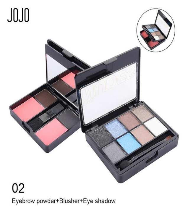 Eye Shadows And Blush On Professional Makeup Kit