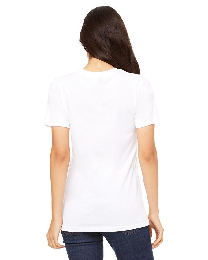White Cotton Cat Printed T-Shirt for Women - Ace-022