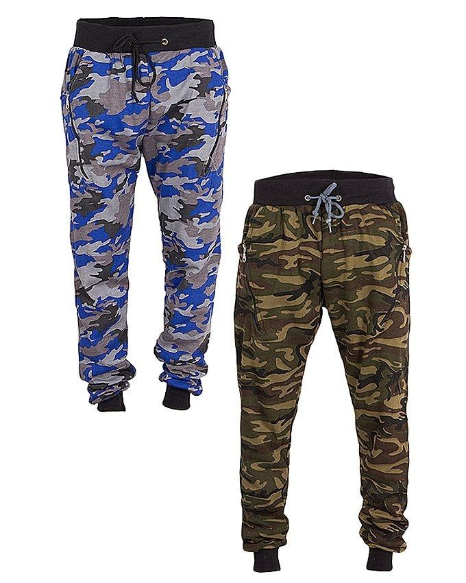 Pack of 2 - Camouflage Casual Sweatpants for Men