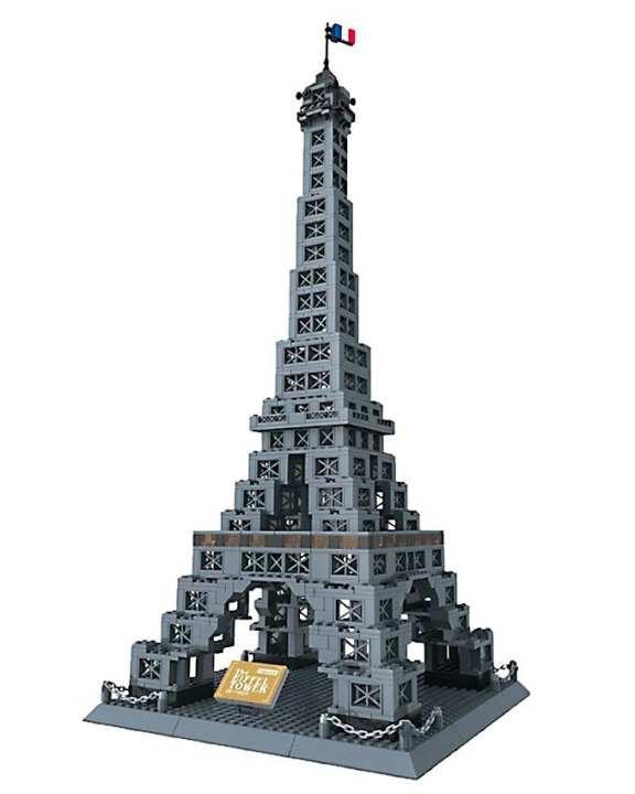 Eiffel Tower - Building Blocks