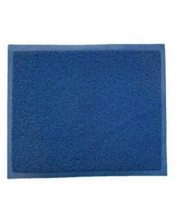 Rubber Door Mat - Blue