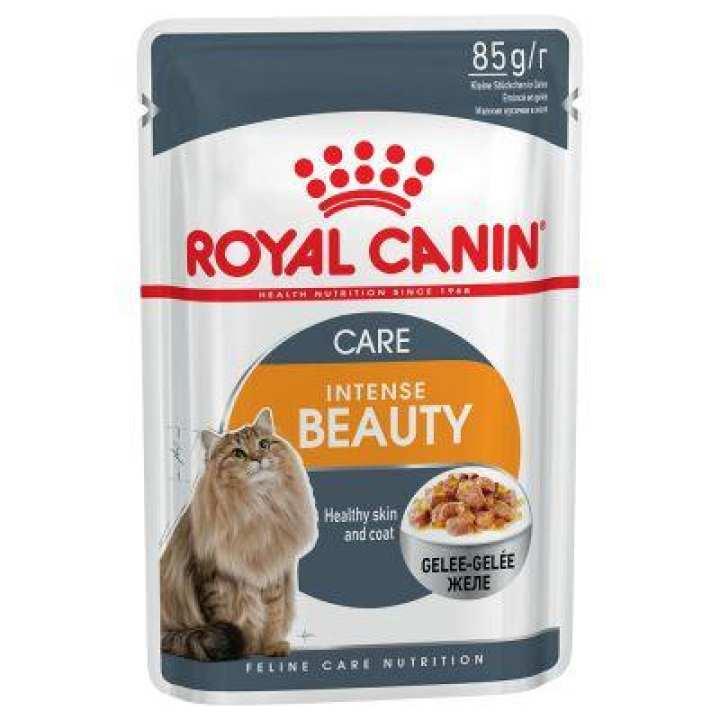 Royal Canin Cat Food Jelly Intense Beauty 85-G