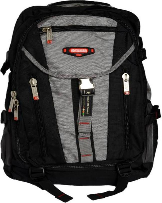 88d0985610 Power in Eavas Power in Eavas Grey   Black Bag For School   College