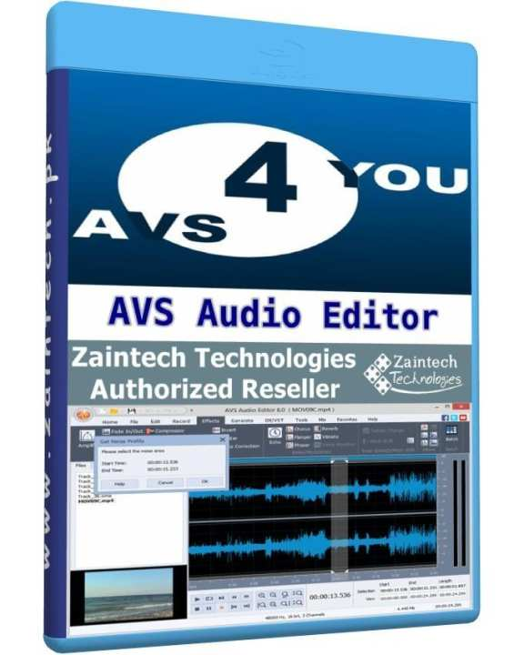 AVS Audio Editor - 1 PC Lifetime License