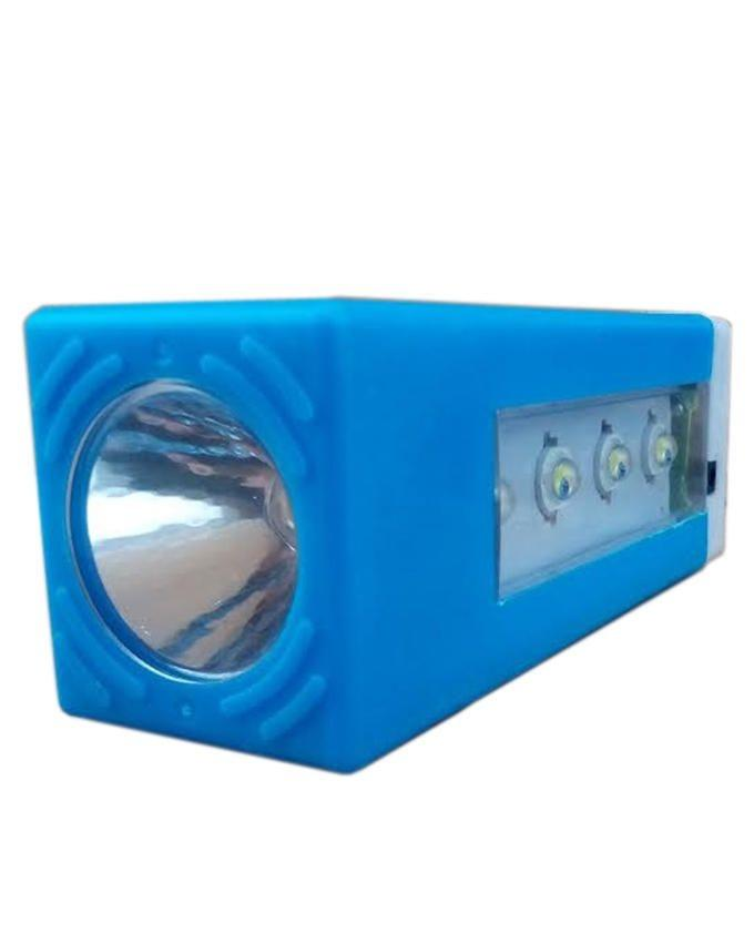 Rechargeable LED Lamp - Blue