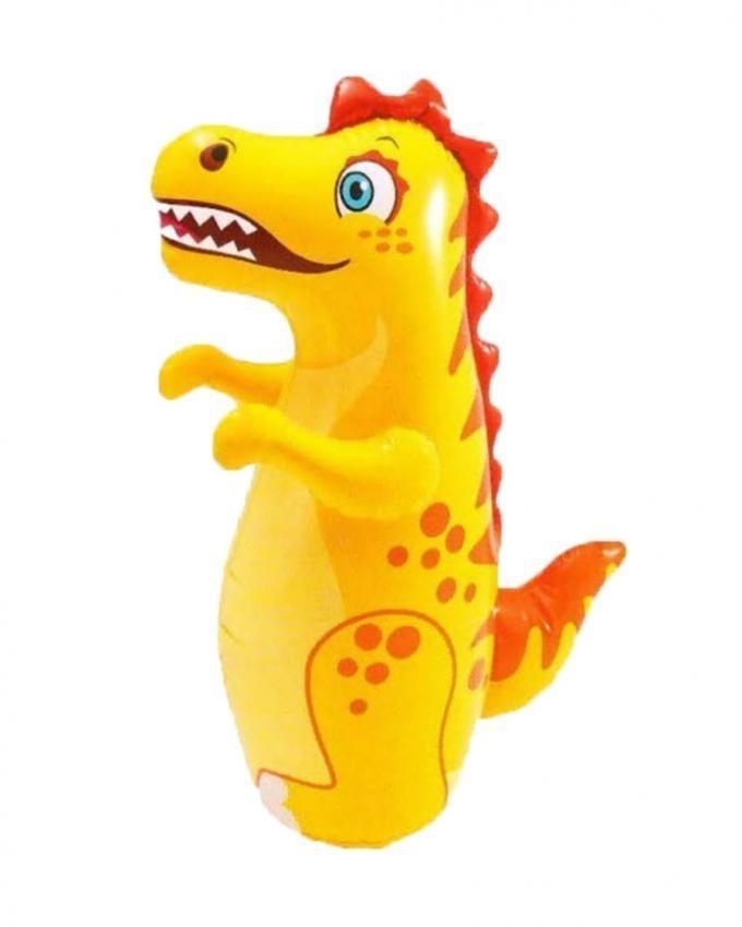 Inflatable Bop Dinosaur - Yellow