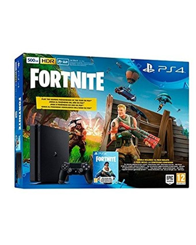 4856d0f4b00 Playstation 4 500Gb Console (Black) With Fortnite And Royal Bomber Pack Dlc