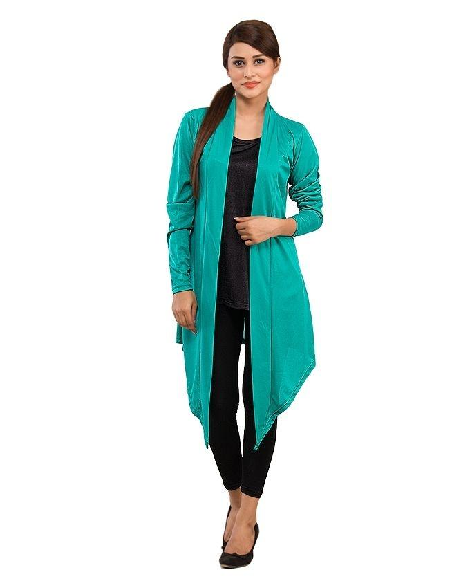 Pack of 5 - Multicolor Polyester Shrugs for Women