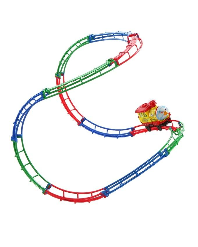 Battery Operated Tumble Train - Multicolor
