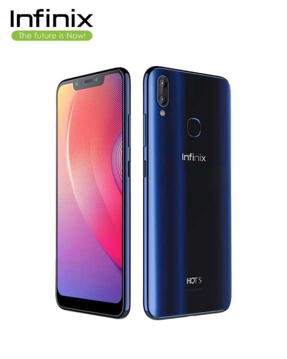 Infinix Hot S3X-Aqua Blue - 6.2'' FHD Display - 4GB RAM - 64 GB ROM - Fingerprint Sensor & Face Unlock