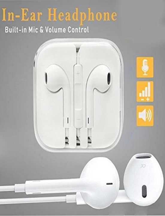 Iphone Handsfree For All Iphone / Android Models - White