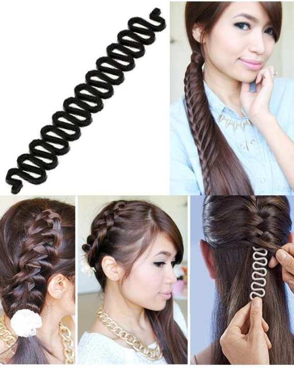Fashion French Hair Styling Clip Stick Bun Roller Curler Braid Tool