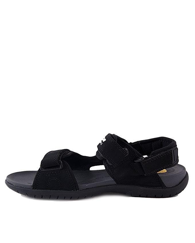 Black PU Energy Sandal for Men