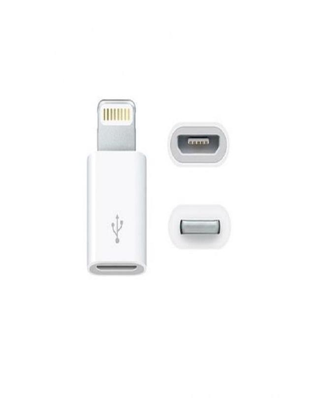 808905fdf60 Otg Micro Usb Adapter for Iphone - White