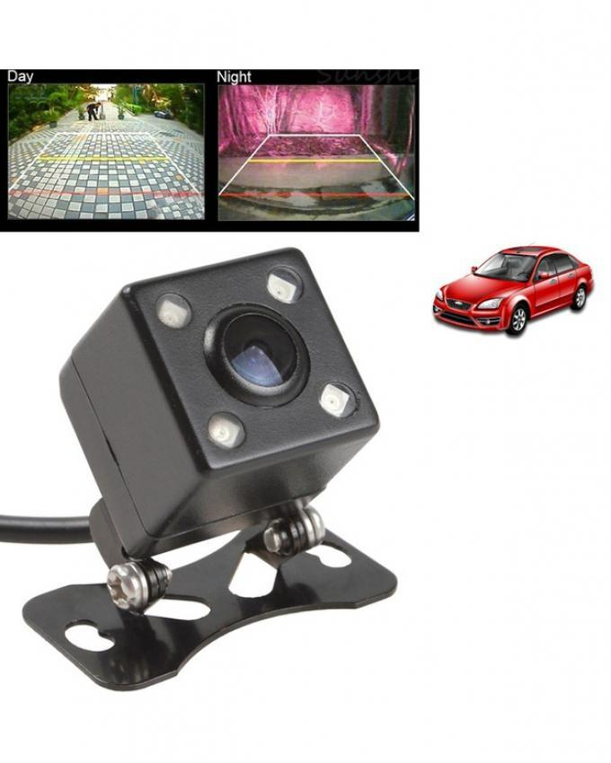 Car back view night vision universal 4 Led light vision water proof camera