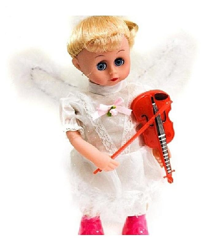 High Quilty Swing Angel Doll Set With Lights And Music For Kids With Baby Doll