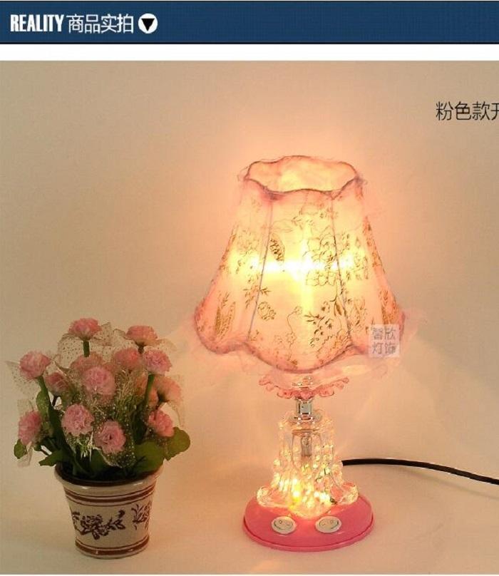 European Style Cloth European Lamp Style Table wk8n0OP