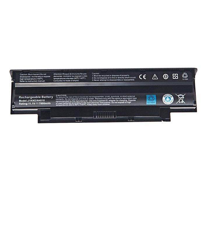 Inspiron 15R 5110 5010 148 17R N7010 N7110 W7H3N N4010, N4050, N5050, J1KND  9 Cell Laptop Battery