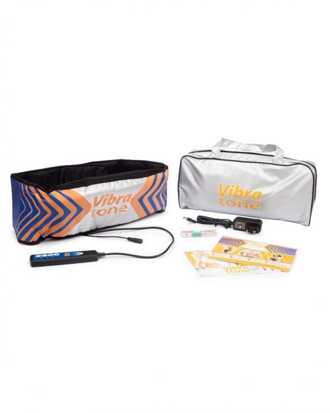 Vibra Tone Slimming Weight Loss Control Belt - Silver
