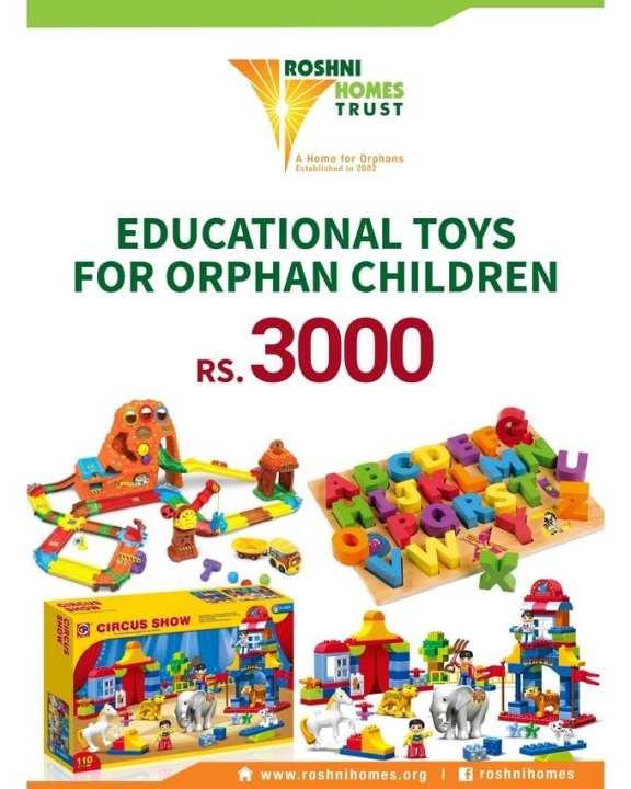 Sponsor Educational Toys for Orphan Children