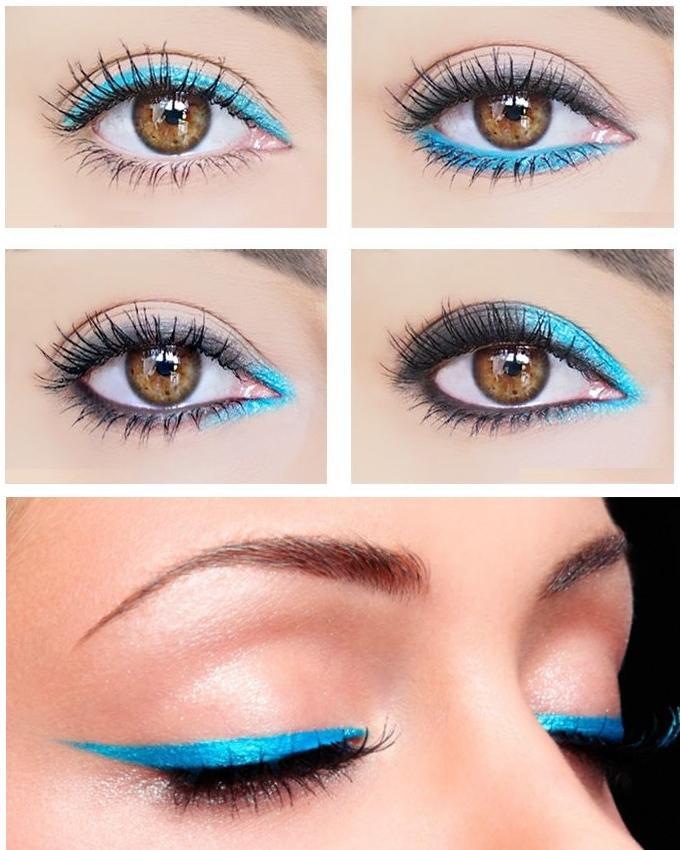 Waterproof - Cleopatra Eyeliner - Blue