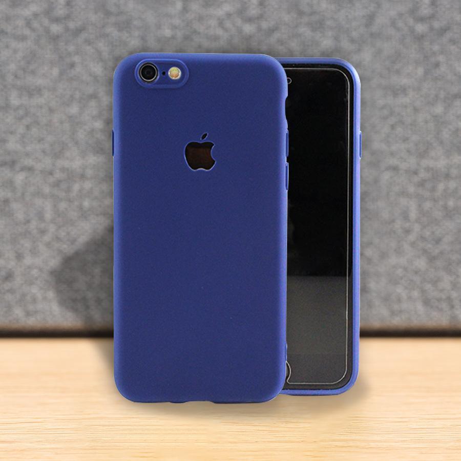 iPhone 6 Plus - Ultra Thin Soft TPU Matte Colour Silicone Case Cover