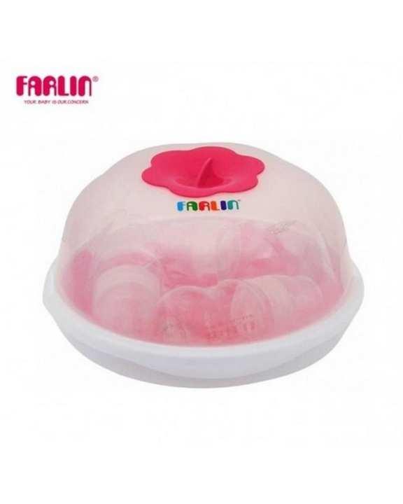 Microwave Steam Sterilizer - Pink