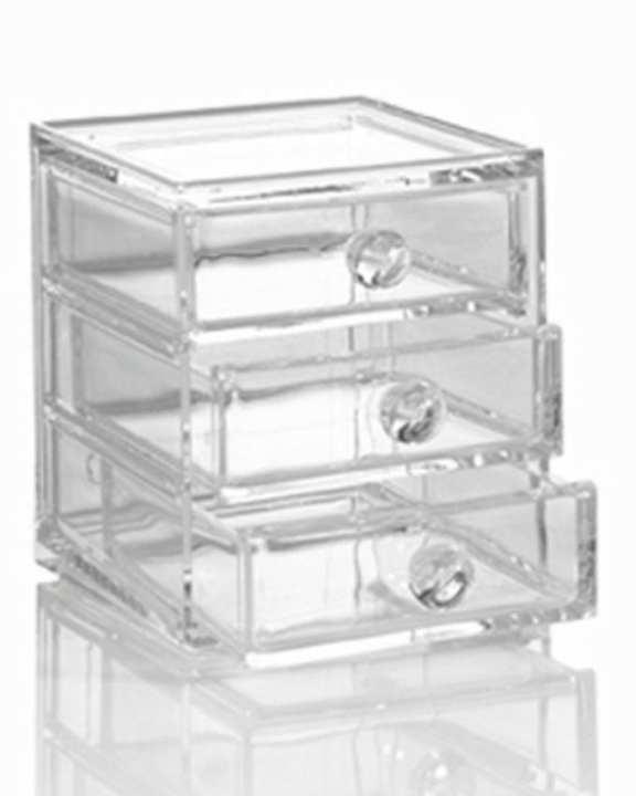 Acrylic Cosmetics & Jewellery Organizer - Transparent