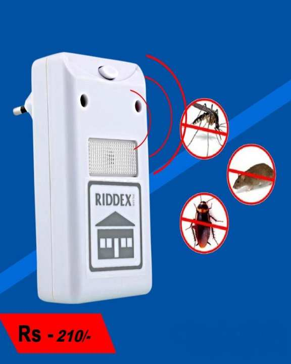 Riddex Electronic Pest Rodent Repeller Mouse Mosquito Insect