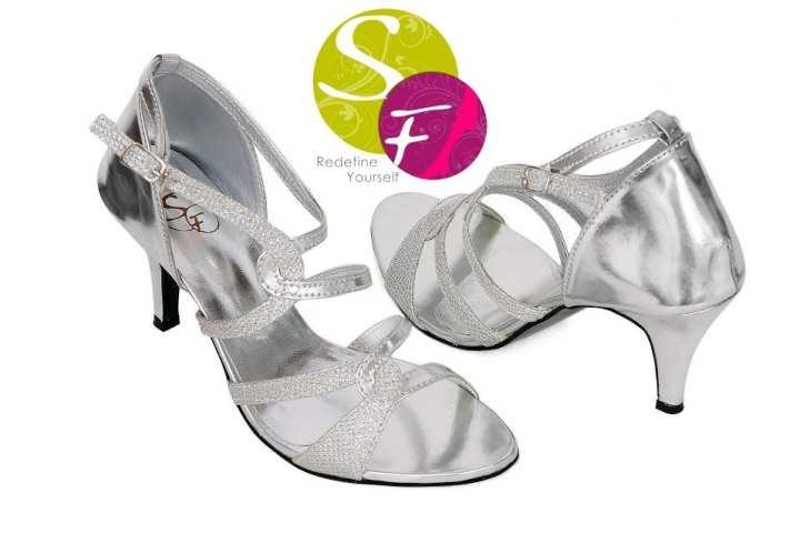 Heels for Women - Silver
