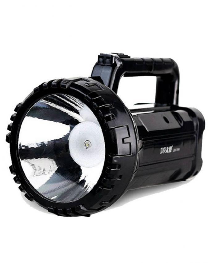 DP LED Rechargeable Emergency Light - Black