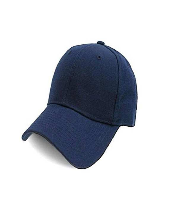 Plain Sun Block Cap For Boys Adjustable