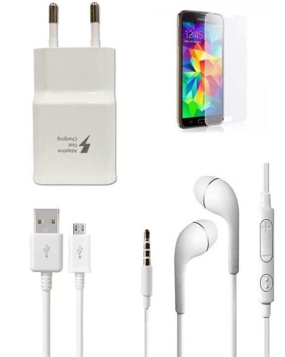 Pack of 4 - Mobile Accessories For Samsung Galaxy S5