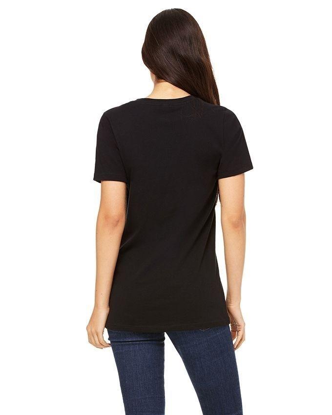 Black Plain T-Shirt for Women