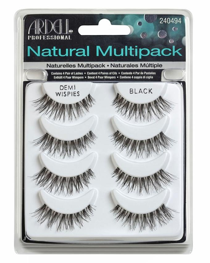 a9ddc9d7fe2 Multipack False Eyelashes - Professional Natural Demi Wispies - Black