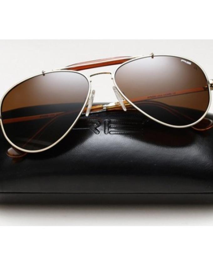 Shady Black stylish Aviator Sun Glasses for men - T5007