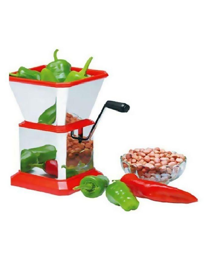 Chilli Peppers & Dried Fruit Cutter - Red & White