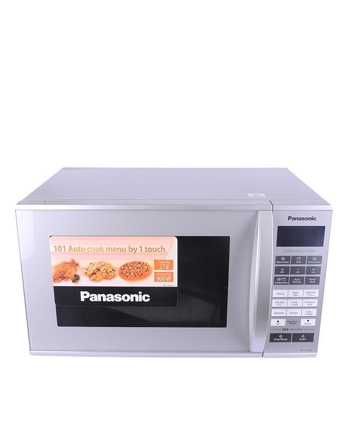Panasonic NN-CT651M - Microwave Oven - 27L - Silver Grey