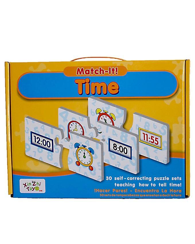 Match It - Time - Multicolor